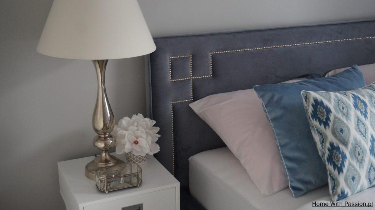 Sypialnia w stylu Hampton – mieszkanie